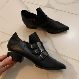 Forever21 Collection Oxford Monk Classy Trend Shoe